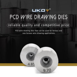 PCD wire drawing dies with long life span