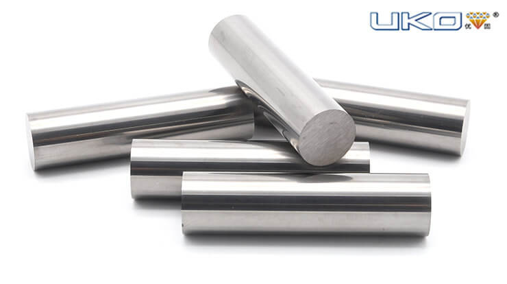 Application and production process of carbide round bar