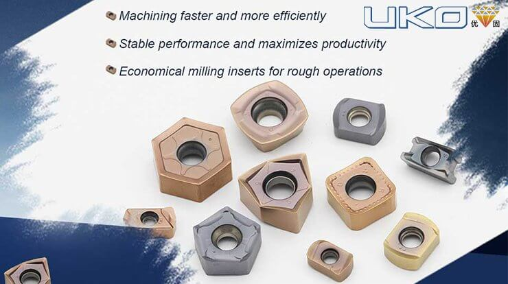 Fast Feed Milling Insert Series